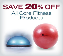 Save 20% off All Core Fitness Products