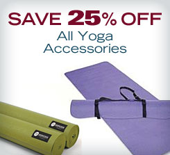 Save 20% off All Yoga Accessories